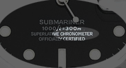chronometer closeup