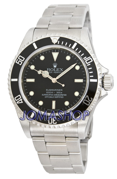 Rolex Oyster Perpetual Submariner Steel Mens Watch 14060-M