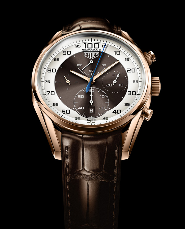 Tag Heuer Mikrograph 1/100th sec chronograph